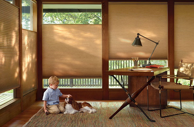 Cordless child and pet safe window shades